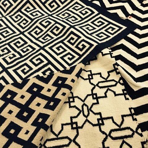 tapetes Kilim geométricos
