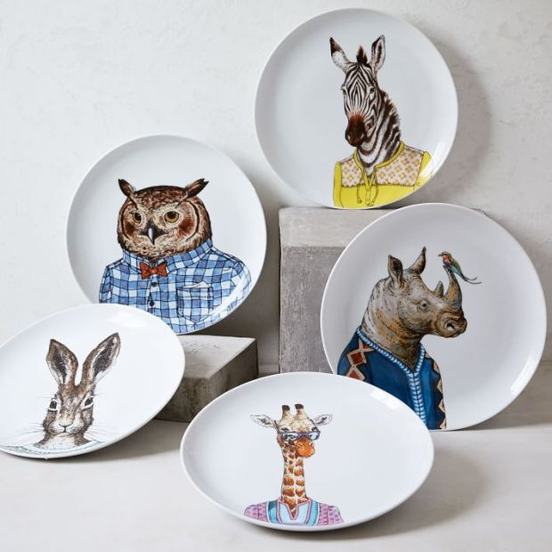 dapper-animal-salad-plates-o